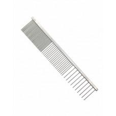 Silver 3 way comb
